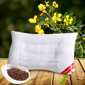 Bedding & Bath-【Jingdong Supermarket】 Meng Jie Home Textiles (MENDALE) pillow single herbal adult pillow plant conservation buckwheat pillow only 50 * 70cm on JD