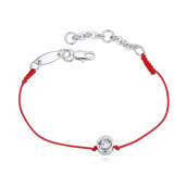 Anklets-BAFFIN Red Rope Chain Anklet With Austrian Crystals For Women Girls Fashion Jewelry on JD