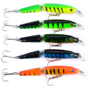 Fishing Lures Приманка-minnow lures 5 Colors Fishaing Lures Fishing Tackle 4.2'-10.66CM/0.34oz-9.64G Fishing Bait on JD