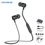 Earphones-PLEXTONE BX325 Magnetic Wireless Earphones Sport Running Bluetooth Headsets with Mic Stereo Headphones For iPhone Xiaomi Android on JD