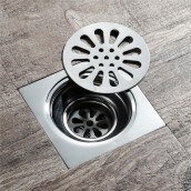 Kitchen Accessories-HIDEEP stianless steel shower floor drain for bathroom fittings on JD