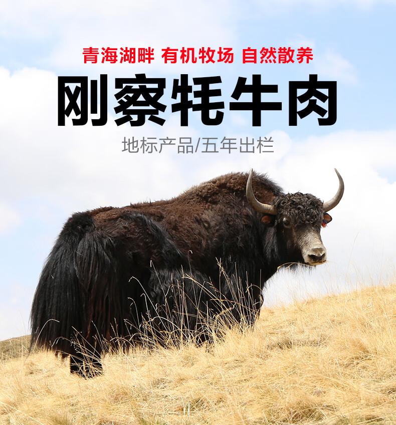 刚察青海湖畔散养牦牛肉