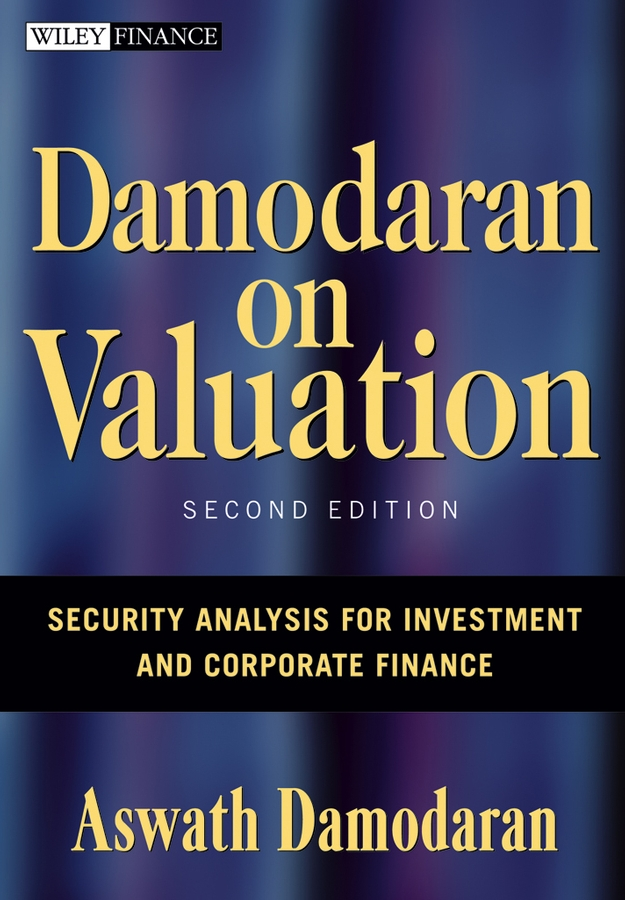 Damodaran On Valuation 2E: Security Analysis For Investment