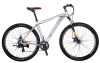 EUROBIKE Mountain Bike 21 Speed 9 Inches Wheels Dual Disc Brake Aluminum Frame MTB Bicycle