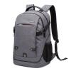 Joy Collection / Carney Road Carneyroad Casual Shoulder Bag Men's Backpack Travel Bag Gray CR-640