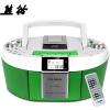 Panda (PANDA) CD-820 CD-проигрыватель ленточный автомат повторитель DVD-плеер фетальный образование машина магнитола магнитола MP3-плеер аудио (зеленый)