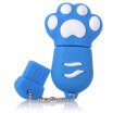 Right Transshow cartoon series colorful cat claw 8GB creative gift U disk blue