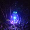 Wisremt / LED Waterproof Bulbs Solar Bulbs Hanging Lamps Outdoor Lawn Lights Solar Garden Decorative Lights Christmas Party Decor