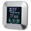 GBTIGER / TS - 82 Touch Screen Meat Cooking Grill Thermometer Timer with Probe