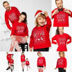 Family Matching Kid Christmas Sweater Sweatshirt Pullover Tops Jumper Blouse, CANIS  - buy with discount