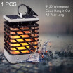 AIUNCI / Solar LED Flame Lamp Flickering Lawn Light Realistic Waterproof Lamp Outdoor Garden Hanging Decorative Lighting for Pathway