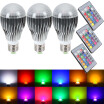 GBTIGER / SUPli LED Light Bulb 10W RGB Color Changing Dimmable LED Light Bulbs with Remote Control