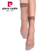 Pierre Cardin socks 6 double loaded sports transparent cotton stockings shallow coffee all yards