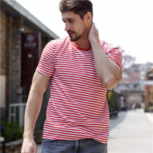 price historyRose Embroidery Striped Mens T-shirt Short Sleeve 2017 Summer Hi-street Oversized Hip Hop Tshirt Cotton Tee Shirts 2 Colors on joybuy