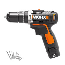 price historyWicks WORX household charging impact drill WX1291 impact drill 20Ah lithium electric hand drill electric hand drill hardware electric screwdriver tool on joybuy