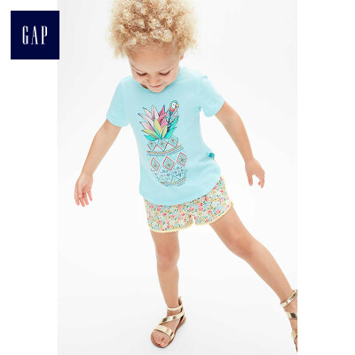GAP flagship store childrens metal butterfly decoration round head sandals 292852 champagne color 22 yards 160CM