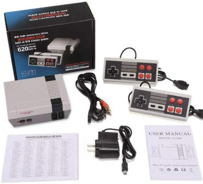 HMDI Mini Game Entertainment System Handheld Console For Nes Games with 600 Different Built-in Games PAL&NTSC by CoolBaby