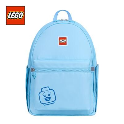 LEGO LEGO childrens school bag lightweight backpack 10 years old or older backpack adult fresh macarons color parent-child package large version men&women blue 20130