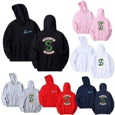 Southside Serpent Riverdale Hoodie Unisex Zip Programme Jumper Sweatshirt Jacket