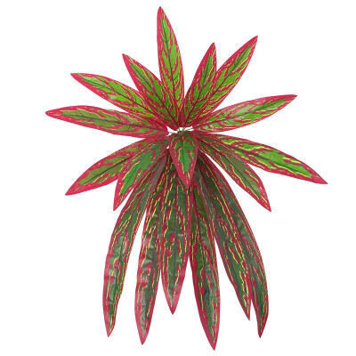 Artificial Plant Leaf Flower For Home Room Parties Decoration Optional Colors