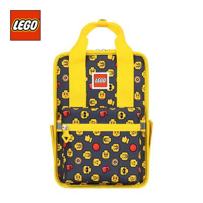 LEGO LEGO childrens school bag casual backpack 3-5 years old backpack kindergarten homework bag leisure light parent-child bag small version men&women yellow 20127