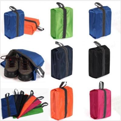 2018 New Portable Travel Shoe Bag Zip View Window Pouch Storage Waterproof Organizer