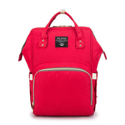 New Mummy Maternity Bag Multi-function Fashion Large Capacity Diaper Backpack Designer Nappy Nursing Handbag Travel Backpack