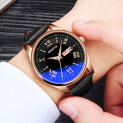 Watch male student Korean version of simple automatic non-mechanical waterproof luminous electronic quartz new concept