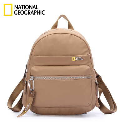 National Geographic National Geographic Schoolbag Women Fashion Casual Waterproof Backpack Korean College Wind Large Capacity Student Backpack Blue