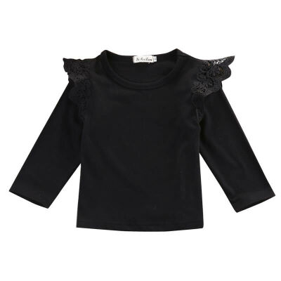 SUNSIOM Newborn Baby Girl Infant Toddler Clothes Long Sleeve T-shirts Tops Outfit Blouse