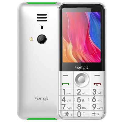 Samgle FLASH 3G Feature Phone 28 inch SC7701B 4608MHz 64MB RAM 128MB ROM 008MP Rear Camera 1450mAh Detachable