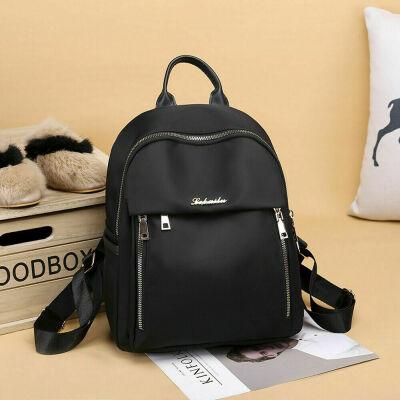 Women Oxford Backpack Anti-theft Rucksack Girls School Travel Shoulder Handbag