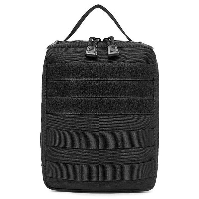Multi-functional First Aid Kit Camping Survival Storage Bag Molle Waist Bag Pack
