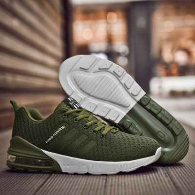 FAN PAO brand official original men running sport shoes air cushion outdoor athletic comfortable walking casual sneakers