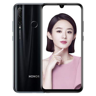 Honor 20i 32 million AI self-timer super wide-angle three-shot full Netcom version 6GB64GB Fantasy black mobile Unicom Telecom 4G