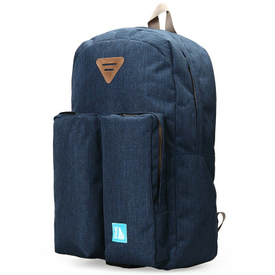 Canada (Inuk) fashion casual bag men and women polyester backpack blue IKB60614105044