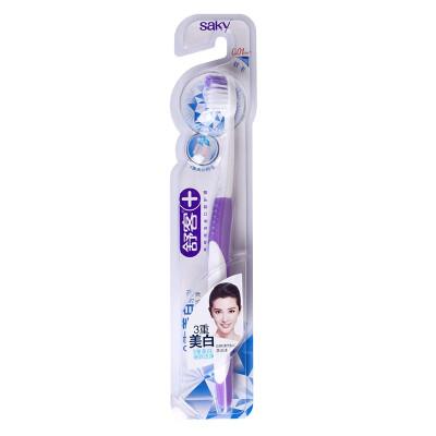 Shu off triple whitening toothbrush (color random