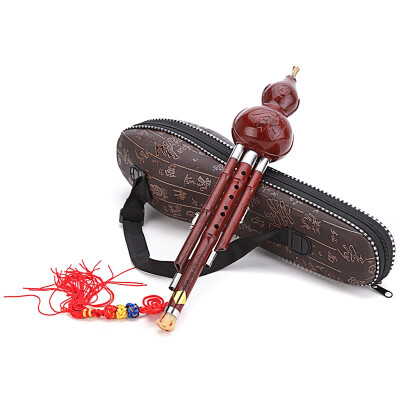 Jingdong supermarket] Dai Ling natural gourd Zizhu rod two tone Hulusi C tune 836