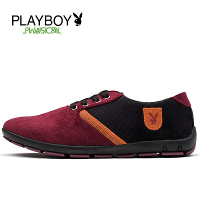 PLAYBOY brand New,Casual,With fashionable fabric surface,Low-top,Men's shoes