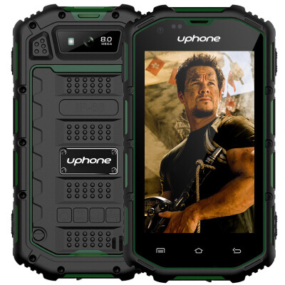 4.0 inch GPS uphone U5A Rugged 3g wcdma gsm dual sim best military grade cell, FM Radio ip68 waterproof shockproof smartphone