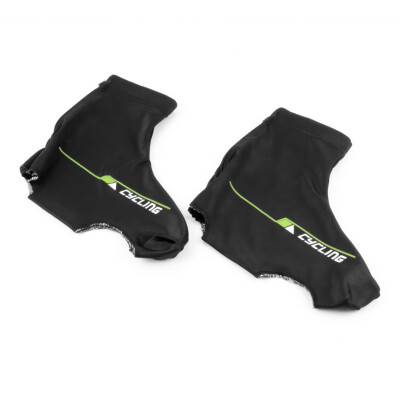 Bicycle Bike Windproof Shoe Covers Cycling Zippered Overshoes Sportwear Size
