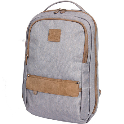 Canada (Inuk) computer backpack men and women fashion casual polyester 13 inch purple blue IKB50215105042