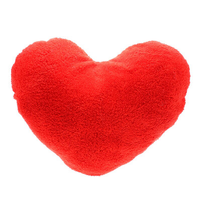 Vanker Colors Soft Love Heart Shape Fluffy Throw Pillows Cushions Block Gifts for Lover