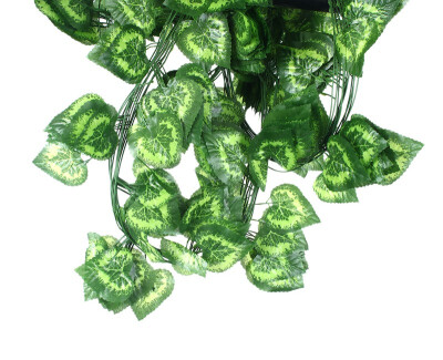 mymei 7.7Feet Artificial Faux Ivy Leaf Garland Plants Fake Foliage Decoration Plastic