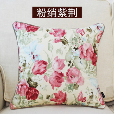 Cntomlv Flowers Cushions Cover Home Decor Pillows new Signature Cotton Cecorative Throw Pillows Decor Pillow