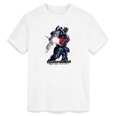 Transformers Pop Tshirt Men Culture Grimlock Optimus Prime Movies Robots Cool T-shirt Printing Casual Cotton O Neck Clothing