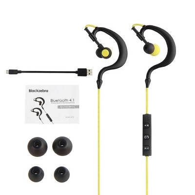 Sports Headphone, Syllable D700 Bluetooth Wireless Headsets Hands-free Calling In-line Volume Control Built-in Microphone Mic Ear Hook Gym Gear Sweatproof In Ear Fit Earphone for Smart Phones Tablets