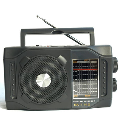 Portable FM multi band SW MW radio retro speaker portable U disk SD card play MP3 music player multiband shortwave full pointer