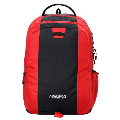 American Tourister BUZZ 2016 series hit color computer shoulder bag leisure bag Navy blue I44 * 11006