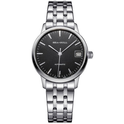 Seagull SEAGULL Business & Leisure Series Automatic Mechanical Watch Women's Table Nail Black Plate Steel D816.457L